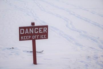 Danger, Ice