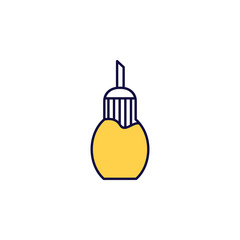 sugar bowl icon. Element of simple colored web icon for mobile concept and web apps. Isolated sugar bowl icon can be used for web and mobile. Premium icon