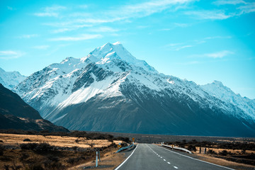 Road to Mt. Cook