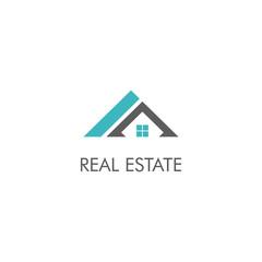 realty house company vector logo