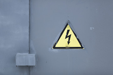 electrity sign