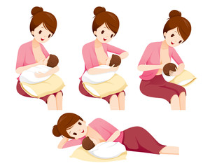 Breastfeeding Positions Stock Photos And Royalty Free Images Vectors And Illustrations Adobe Stock