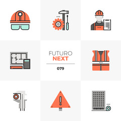 Civil Engineering Futuro Next Icons