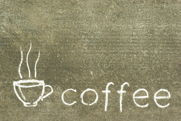 advertising background for coffee