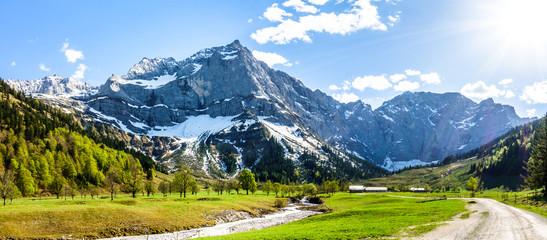 Wall Mural - karwendel mountains