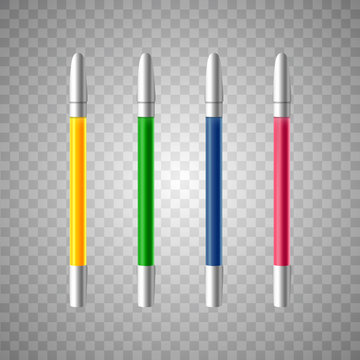 realistic marker . vector illustration