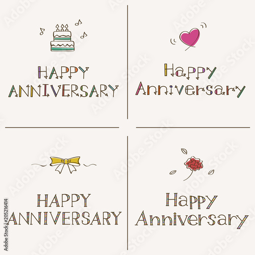 Happy anniversary stock image and royalty free happy anniversary voltagebd Choice Image
