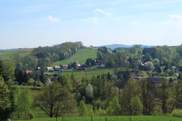 Sebnitz im April