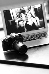 Kamera und Computer