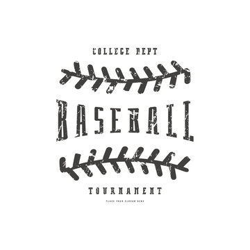 Emblem of baseball team