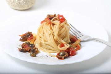 Pasta pomodorini e olive