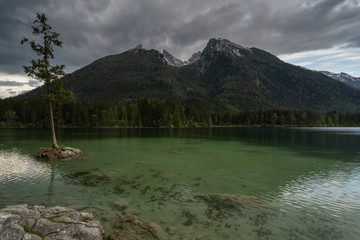 Fototapete - Hintersee Bayern