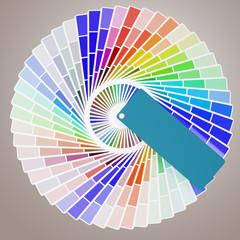 3d Pantone color palette guides