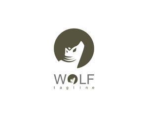 wolf circle logo