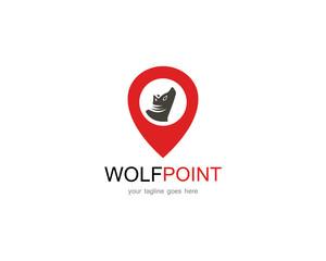 Wolf point logo