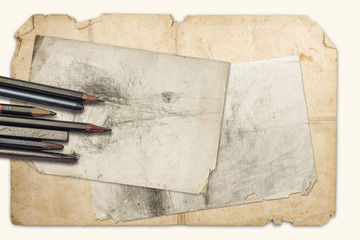 Drawing pencils and graphites
