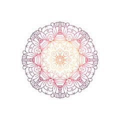 Mandala round design