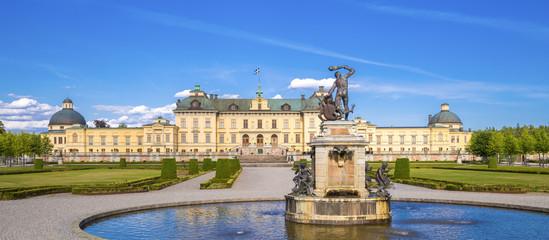 In de dag Stockholm Schloss Drottningholm, Stockholm