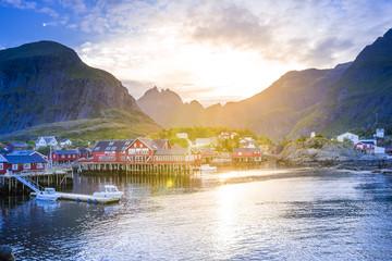 Moskenesøy, Lofoten, Norwegen