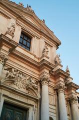 The facade of I Gesuiti (Church of Santa Maria Assunta), Venice Italy