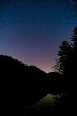Stars over Lake