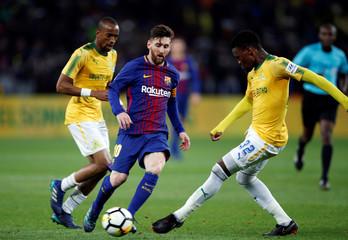 International Friendly - Barcelona v Mamelodi Sundowns
