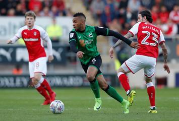 League One Play Off Semi Final Second Leg - Rotherham United vs Scunthorpe United
