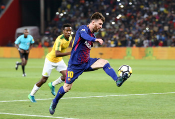 International Friendly - Barcelona v Mamelodi Sundowns