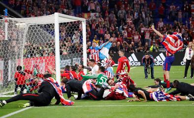 Europa League Final - Olympique de Marseille vs Atletico Madrid