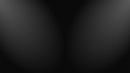 Fondo abstracto negro con degradado estilo luz de reflector