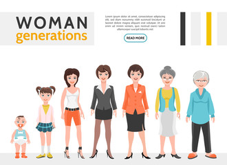 Flat People Generation Set