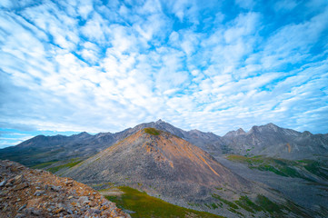 Beautiful mountain scenery in the Zheduo