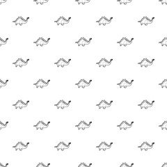 Stegosaurus pattern vector seamless repeating for any web design