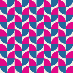 Seamless colourful leaf pattern background