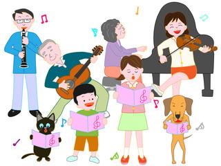 ペットと家族のコンサート