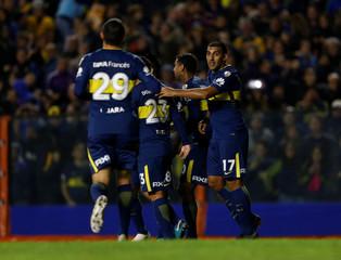 Soccer Football - Argentina's Boca Juniors v Peru's Alianza Lima  - Copa Libertadores