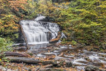 Mohican Falls at Ricketts Glen, Pennsylvania