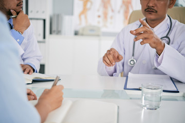 Meeting of doctors