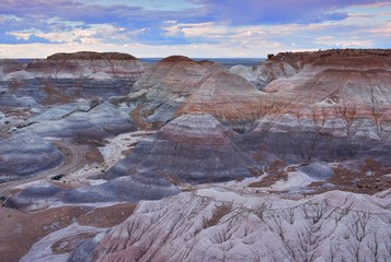 Photo sur Plexiglas Parc Naturel Petrified Forest National Park, USA.