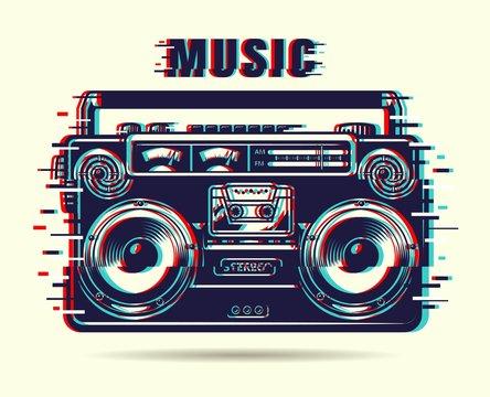 Music tape recorder