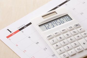 ビジネスイメージ スケジュール Business image schedule concept