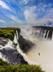 Grandiose the Devil's Throat waterfall