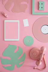 Tablet and vinyl