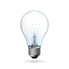 Vector drawn light bulb