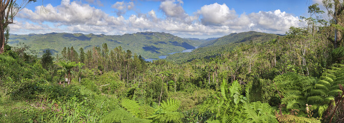 Topes de Collantes nature reserve park, Trinidad, Cuba