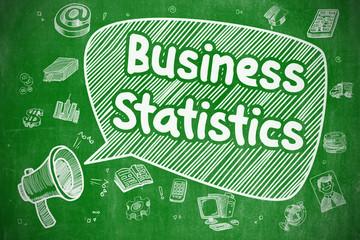 Business Statistics - Business Concept.