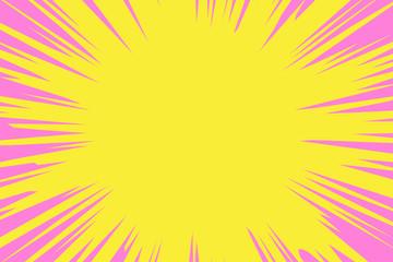 背景素材,アニメーション,表現,集中線,漫画本,効果,放射線,スピード感,加速,コピースペース,光線