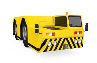 Aircraft Towing Tractor Isolated