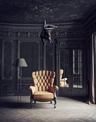 The Bat as a ceiling lamp