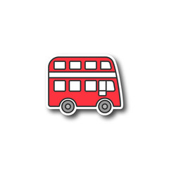 Double decker bus patch